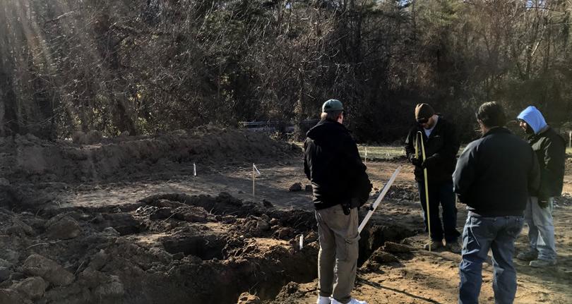 Building Our New Schumacher Home:  Foundation Construction
