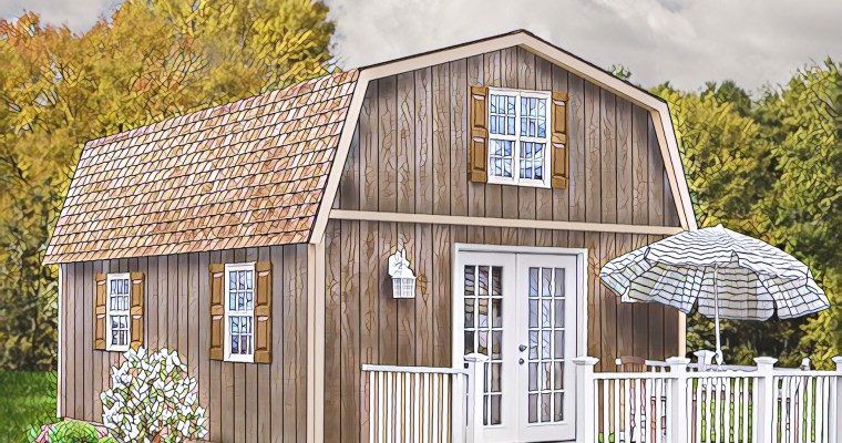Richmond Barn Kits by Best Barns