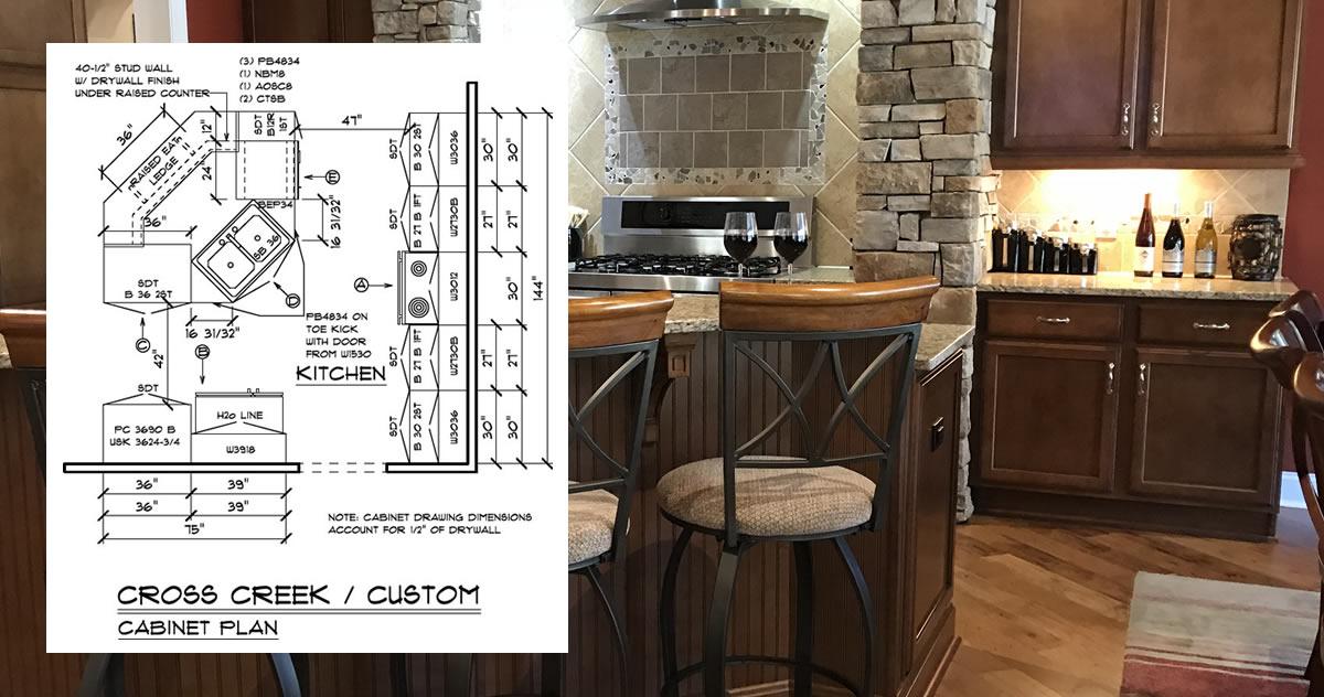 Schumacher Homes Kitchen Final Plans