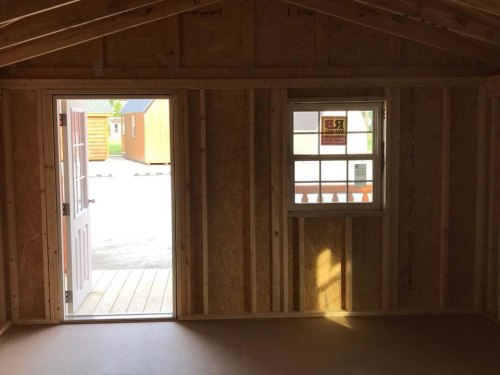 The interior is unfinished to complete any way you want. 12' x 24' Modular Log Cabin for under $10,000 - Project Small House