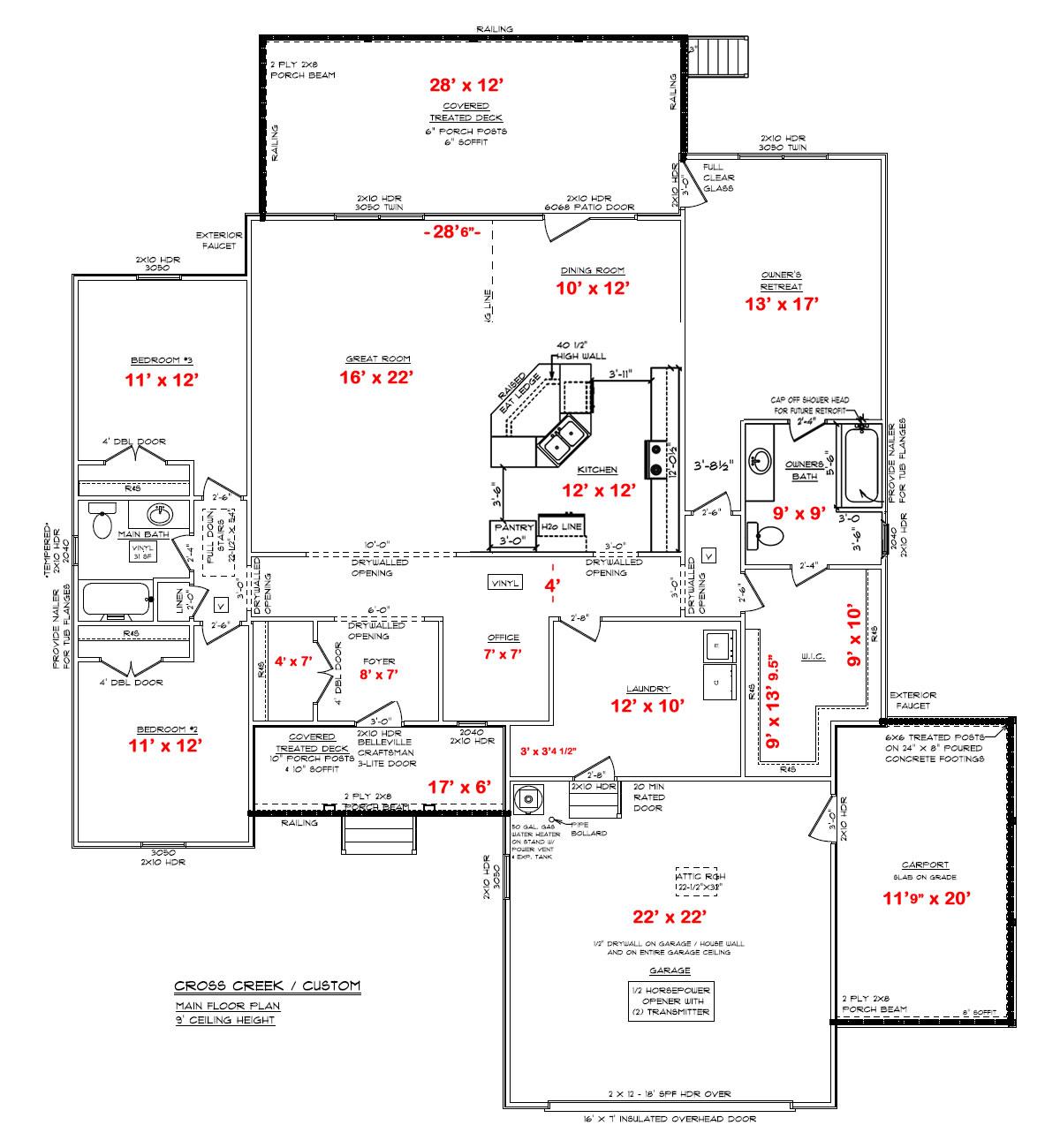 Building Our New Schumacher Home Progress Report