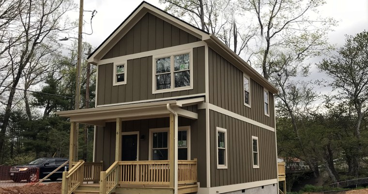 New Small Houses in Asheville