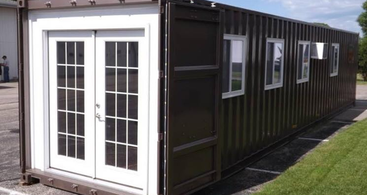 Shipping Container Tiny House or Workshop