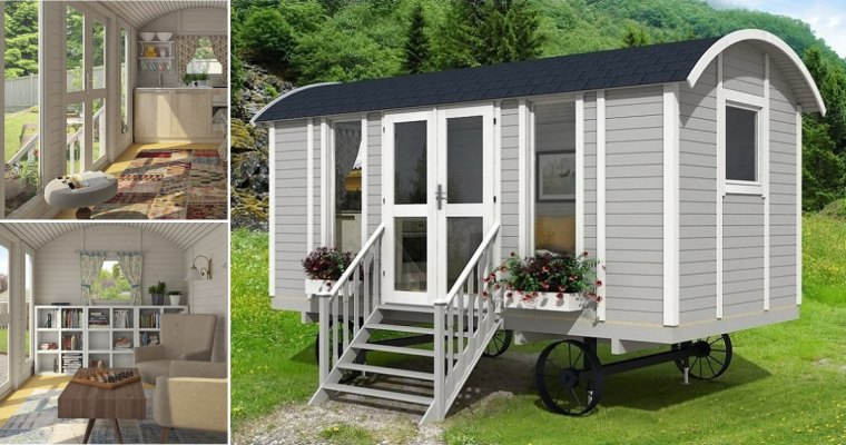 Allwood Mayflower 117 Square Foot Tiny Houses