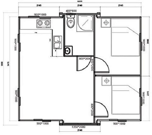 Floor Plans - Expandable Container House – Project Small House