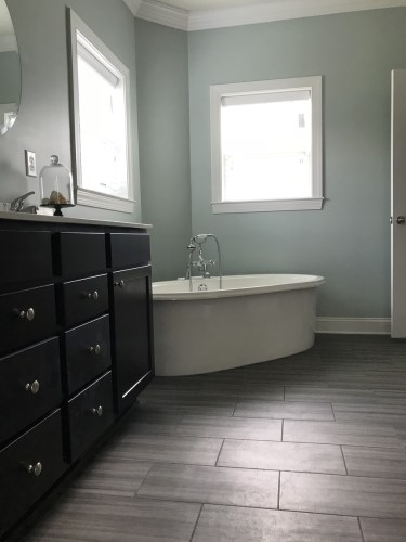 Master Bath - Modular Homes: The Maiden II at Premier Homes of the Carolinas – Project Small House