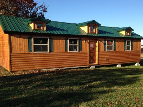 White Tail Log Cabin with Dormer Windows – Project Small House