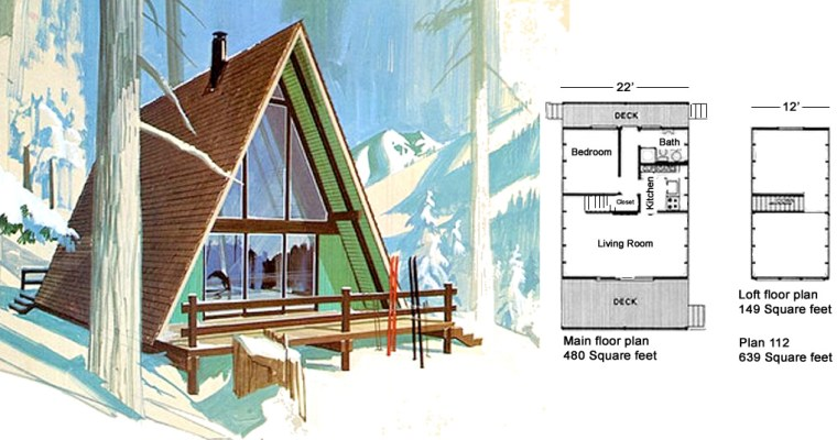 Classic Design for a Low-Budget A-Frame