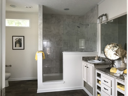 Master Bath - Model Modular at Clayton Homes – Project Small House
