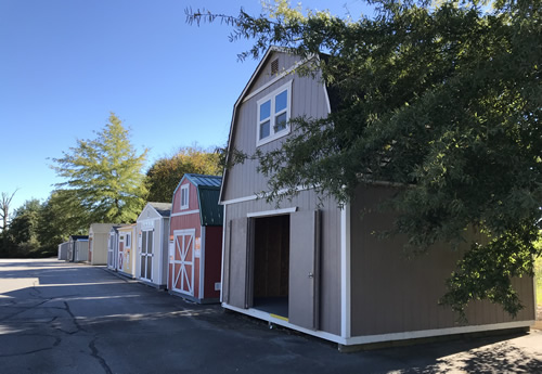 See how much larger the Summer Wind is than any of the other sheds at Home Depot? - Summer Wind: Two Floor Storage Barn – Project Small House