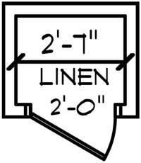 Linen Closet Plan - Closets – Building our Schumacher Home – Project Small House