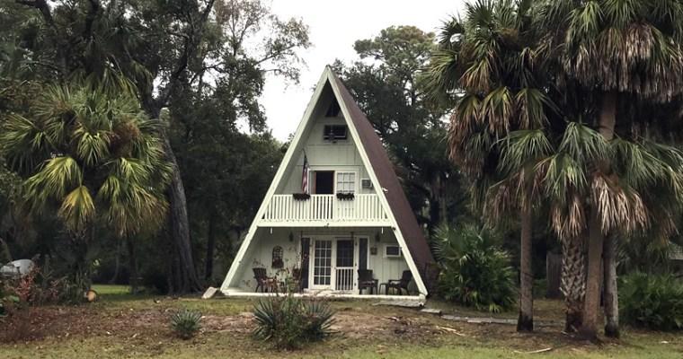 A-Frame House on Hilton Head Island