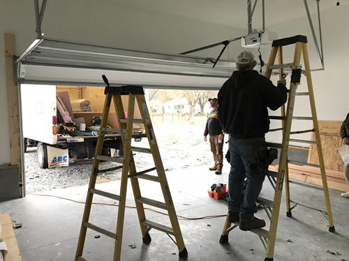 Adjusting the garage door opener - Garage Door – Building our Schumacher Home – Project Small House