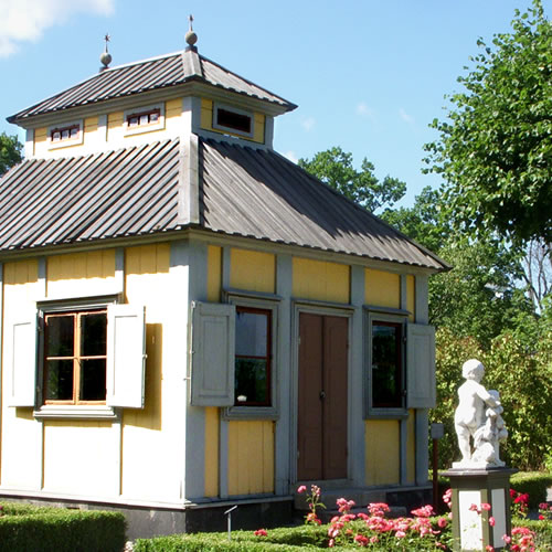 I love the colors - Inspiration: Swedish Summer House