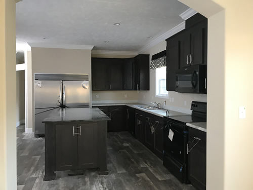 Archdale Kitchen - Archdale Modular or Double Wide – Project Small House