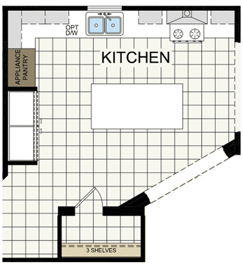Archdale Kitchen Floor Plan - Archdale Modular or Double Wide – Project Small House