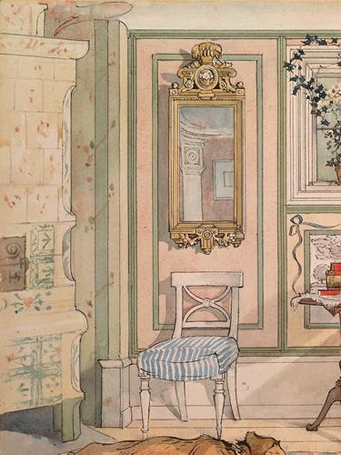 Carl Larsson's Tiled Stove