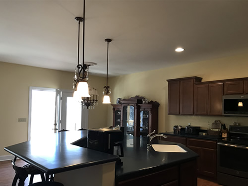 The coffee maker may not stay there... - Our New Kitchen - Getting Settled – Project Small House
