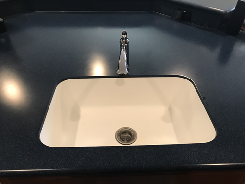 The sink is big enough for even my biggest pan. - Our New Kitchen - Getting Settled – Project Small House