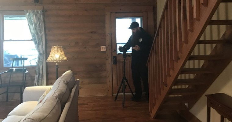 Getting the Log Cabin Ready to be a Vacation Rental – The Photographer