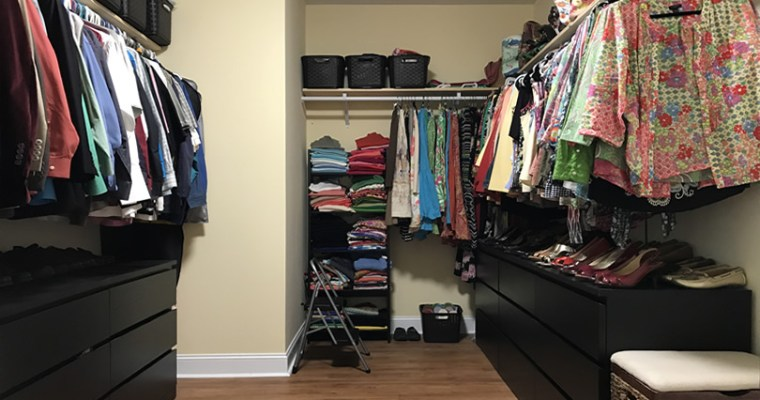 Our Walk-in Closet
