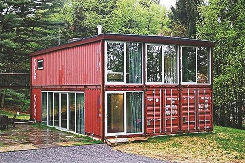 Weizhengheng Container House made out of containers