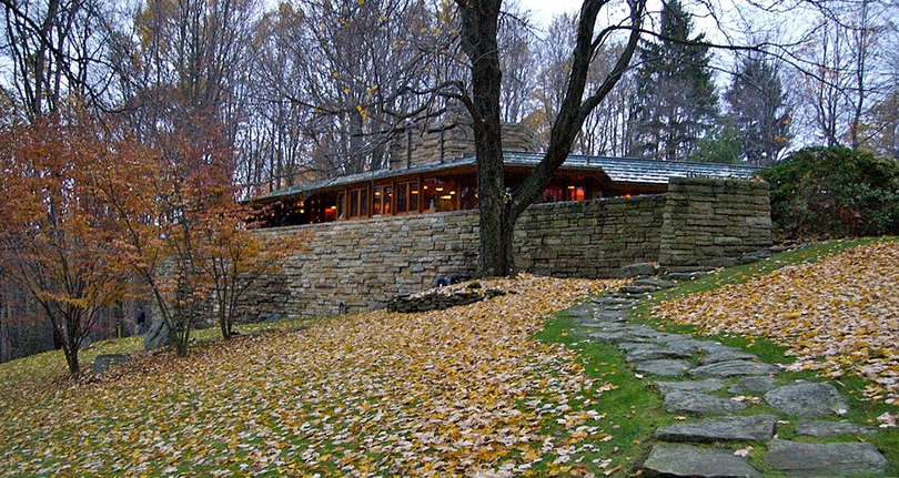 Inspiration: Frank Lloyd Wright's Kentuck Knob
