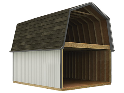 Tuff Shed TB-800 2S has a full second story