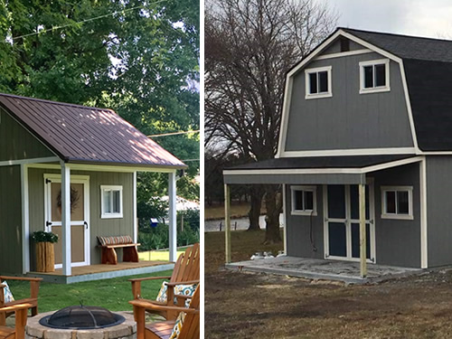 Tuff Shed Sidewall Porch and Endwall Porch