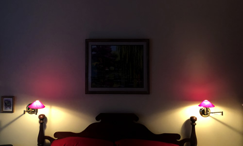 Swing Arm Lamps to read in bed