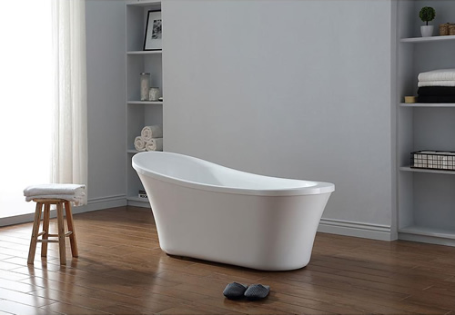 "OVE Decors 980208275 65"" Ruby Freestanding Tub"