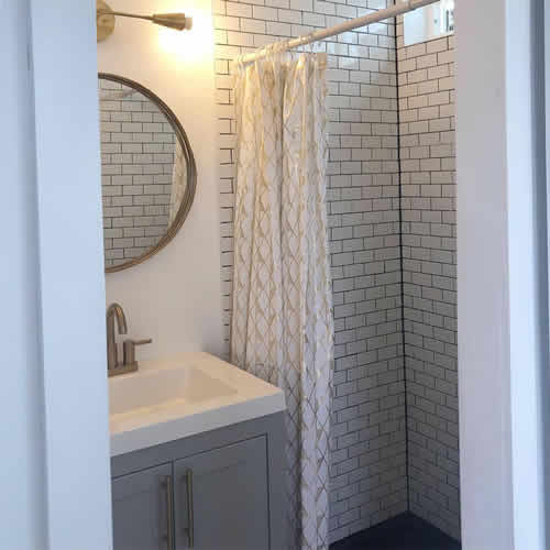 The bath and shower