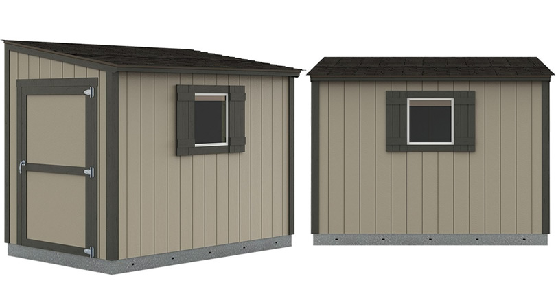 Selecting a Premier Lean-To from Tuff Shed