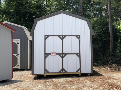 10x20 Metal Lofted Barn