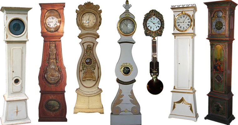 Can you tell a Swedish Mora Clock from a French Comtoise Clock or a Danish Bornholm Clock?