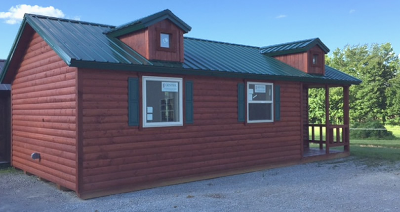 Complete Cabin from Deer Run Cabins Only $33,000