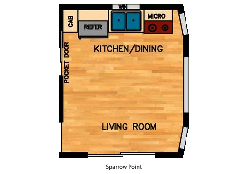 Sparrow Point Kitchen Layout