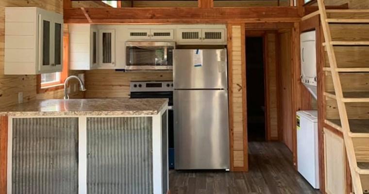 Avery Cabin Co Park Model Log Cabin Kitchens