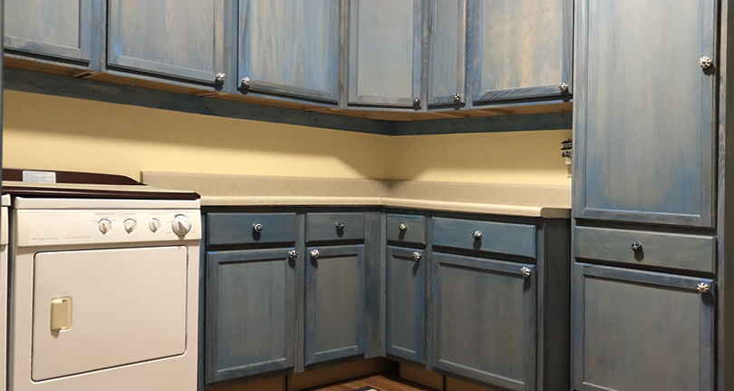 The Finished Laundry Room