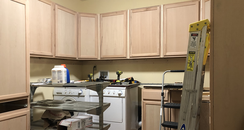 New Cabinets for the Laundry Room