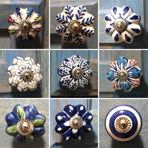 Some of the different knobs