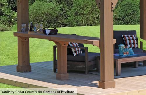 Yardistry Wood Counter Kit