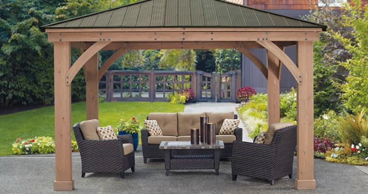 Yardistry Outdoor Rooms, Gazebos and Pavilions