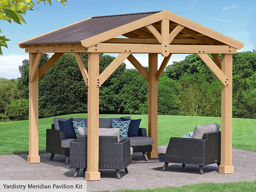 Yardistry Meridian Pavilion Kit