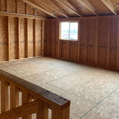 Tuff Shed 16 x 16 Upstairs