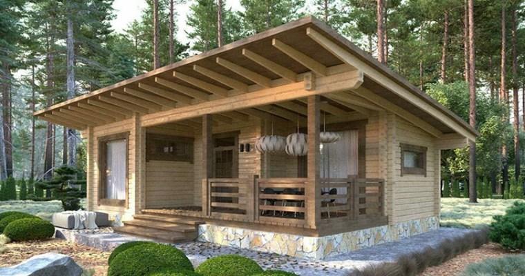 $45,312 Eco-friendly Log Cabin Kit