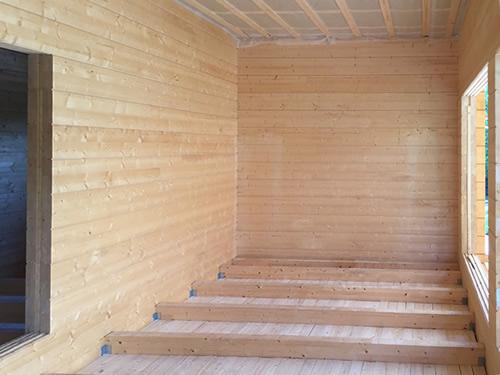 EcoHouseSmart Log Cabin #050.9