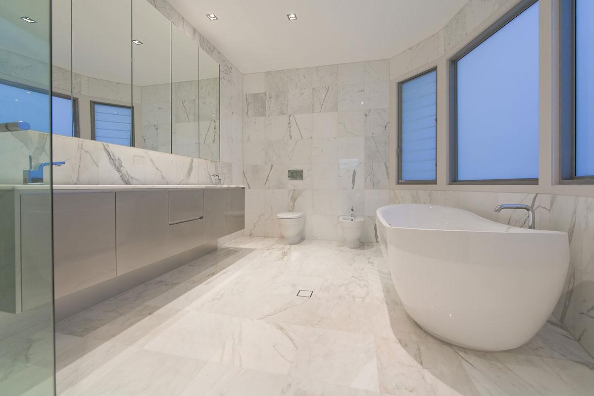 gray marble bathroom photos cafe lapin