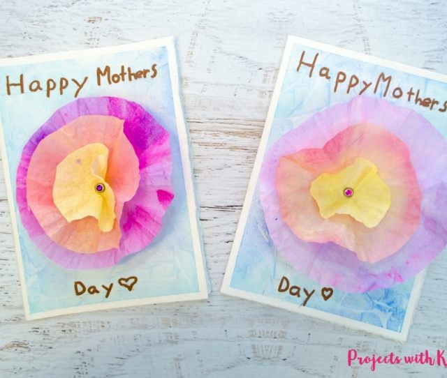 This D Flower Mothers Day Card Craft Is Such A Beautiful Project For Kids To Make