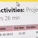 Project Timer header